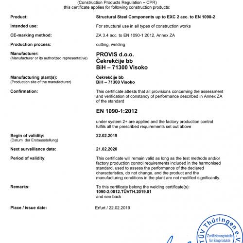 PROVIS-d.o.o.-FB-CPR-1090-1-013-Certificate-F-P-C_190012_TÜV_TH2019_01_en_rev.05-500x500