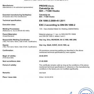 PROVIS-d.o.o.-FB-CPR-1090-1-014-Welding-Certificate_190012_TÜV_TH_2019_01_en_rev.05-300x300