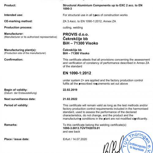 PROVIS-doo_Alu_Certificate-FPC_EN1090-1_1-500x500